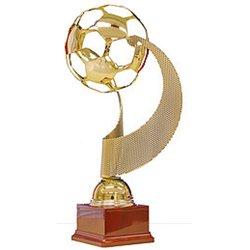 Trofeo Calcio in metallo dorato art. 1673/0 H 43 CM