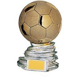 Trofeo Pallone d'oro H 31 CM. DIAM. 20 (SO-6018)